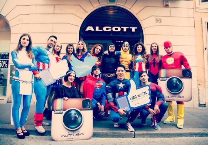 Missione Sconto Alcott con supereroi Tuttocostumi